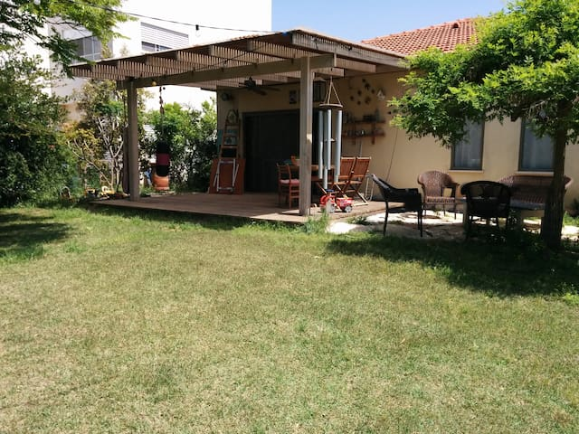 Our lovely kibutz family home - Revadim