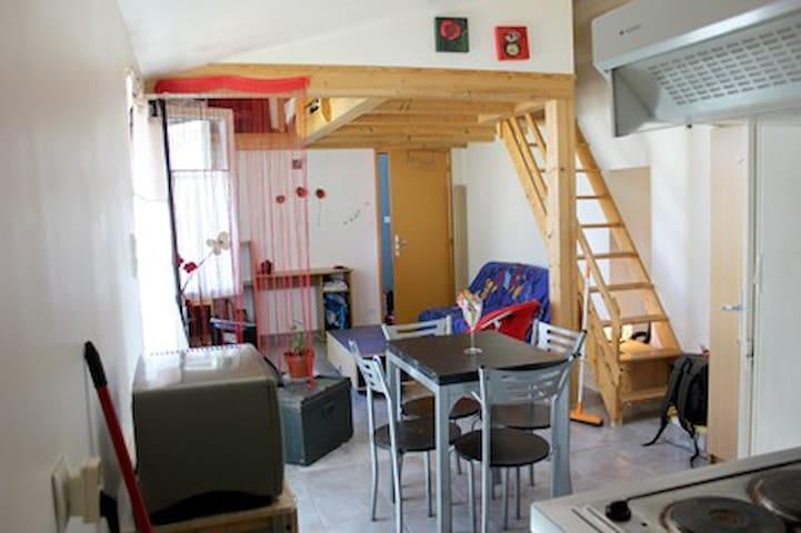 Joli studio  près de La Rochelle - Esnandes - Departamento
