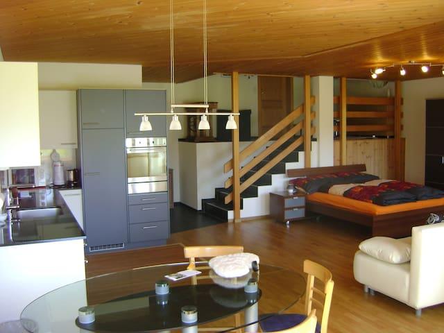 Stay on a pure organic farm - Wuppenau - Loft