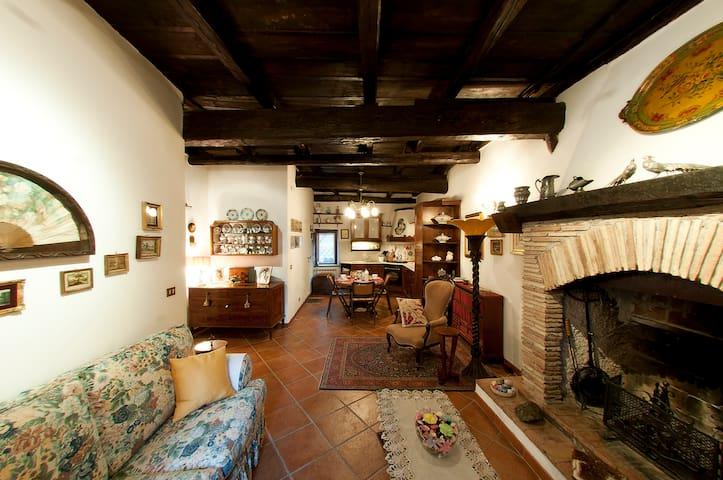 Casa Luisa nel Borgo di Mazzano RM - Mazzano Romano - Departamento