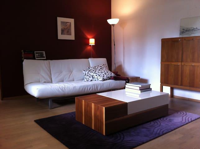1-2 Pers Appartment Großwallstadt - Großwallstadt - Appartement