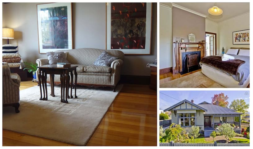 Sassy, spacious and private lounge. - West Launceston - Daire