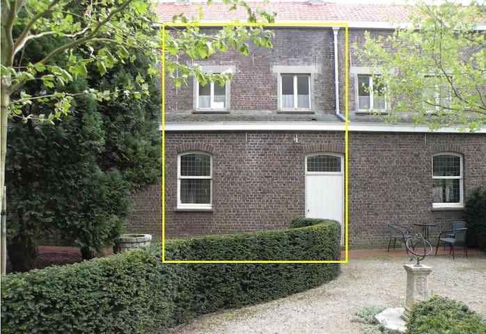 Modernized duplex unit in a convent - Eeklo
