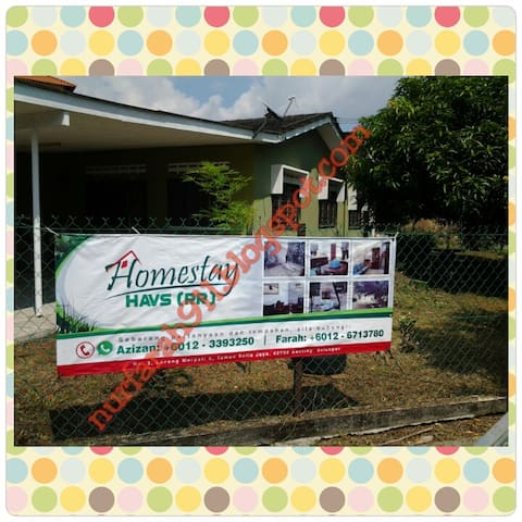 Corner Lot Exclusive Homestay RR - Banting - Hus