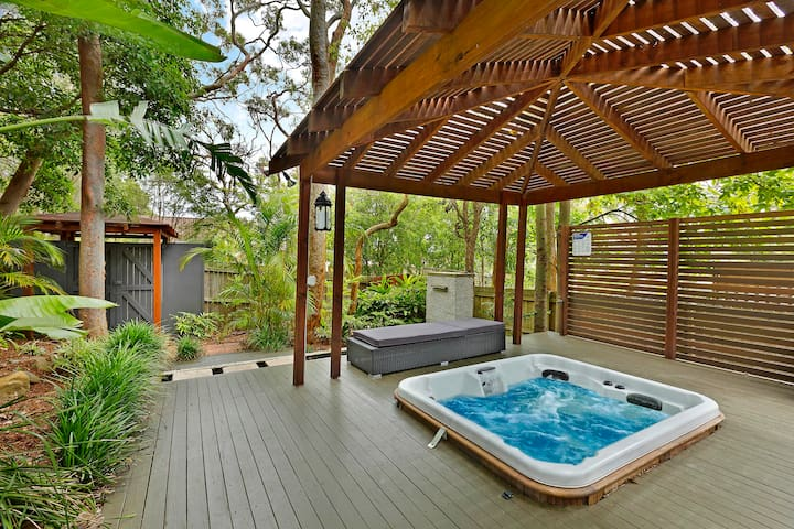 Heavenly Spa Retreat - Bateau Bay - Appartement