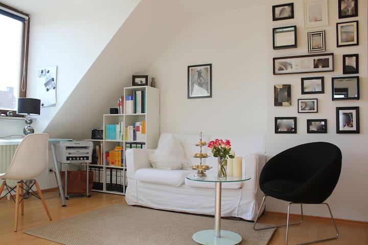 Charming studio flat - Байройт - Квартира
