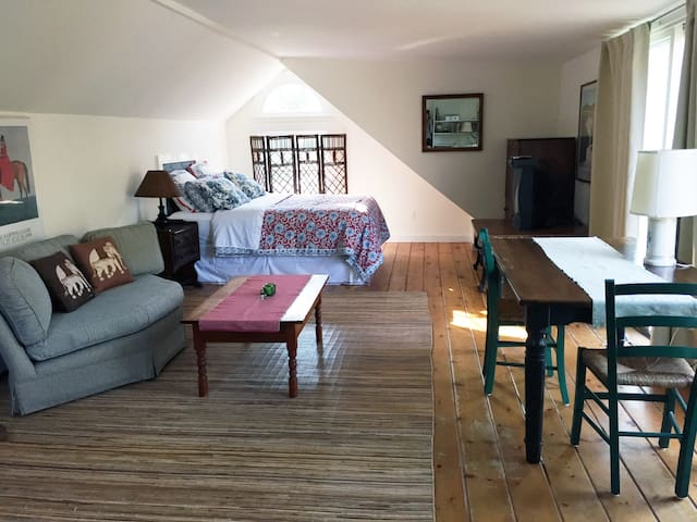 Large Private Sunny Studio - East Hampton - Byt