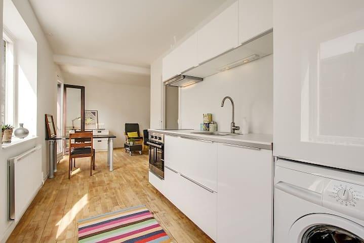Cozy and central Frederiksb. flat  - Frederiksberg - Apartmen