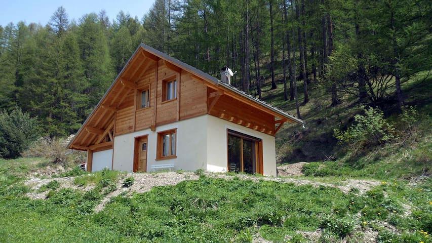 Joli chalet familial en bois - Arvieux - Bungalo