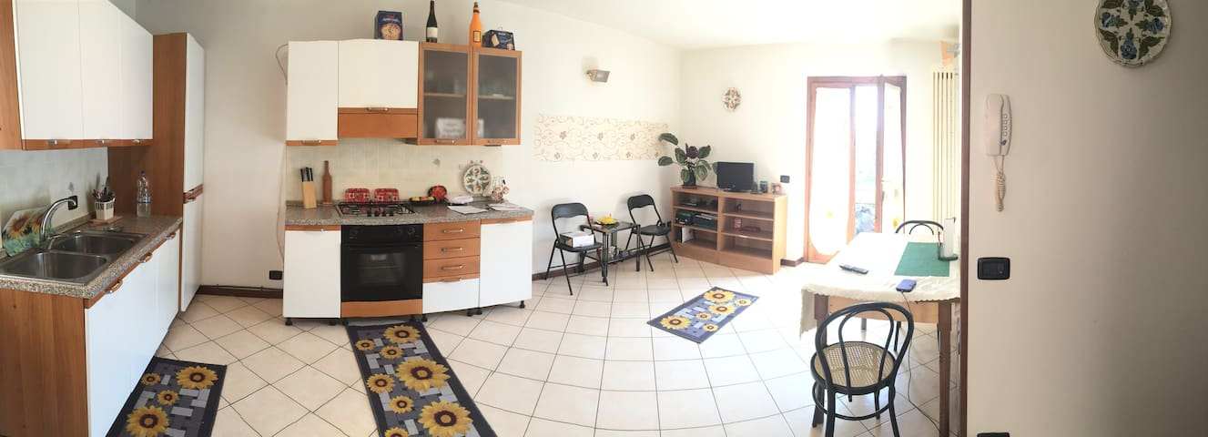 Amazing 2 bed close to Iseo lake - Credaro - Appartement