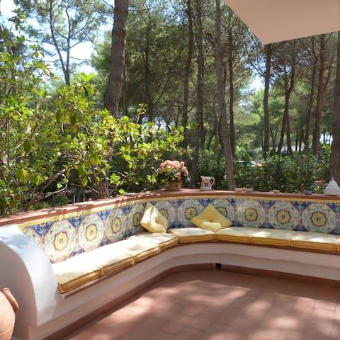 Summer house, private beach& nature - Castellaneta Marina - Villa