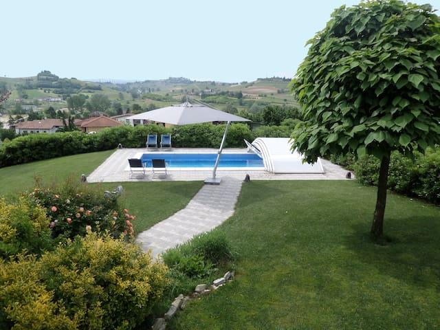 Villa, Private Pool, Garden, Unesco World Heritage - Montaldo Scarampi - Villa