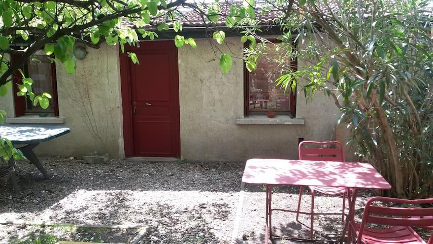 maison charmante avec jardin - Lyon - Hus