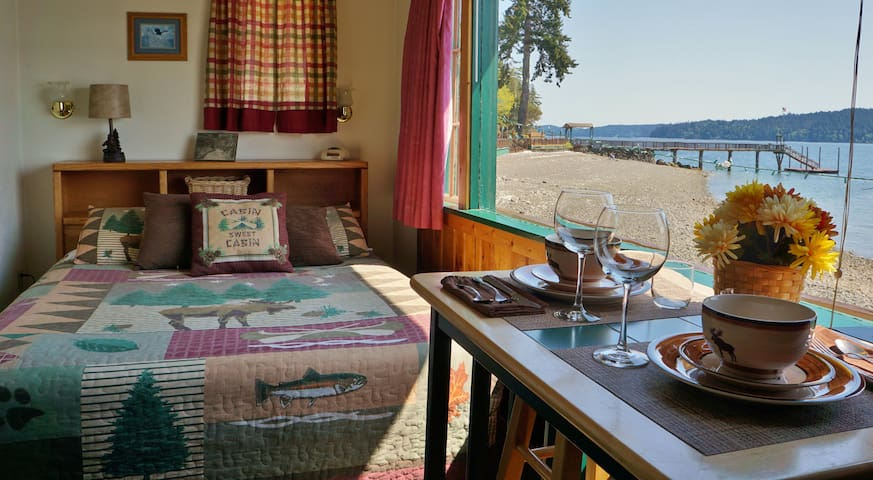 Classic NW Waterfront Cabins!!!6 - Lilliwaup - Cabaña