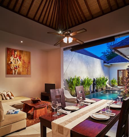 1BR Private villa seminyak,20mint walk 2 the beach - Kuta - Villa