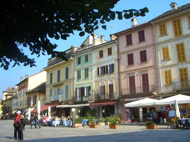 Giove with superb island view! - Orta San Giulio - Daire