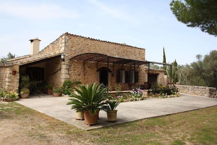 Bonita casa rural con piscina - Lloret de Vista Alegre - Hus