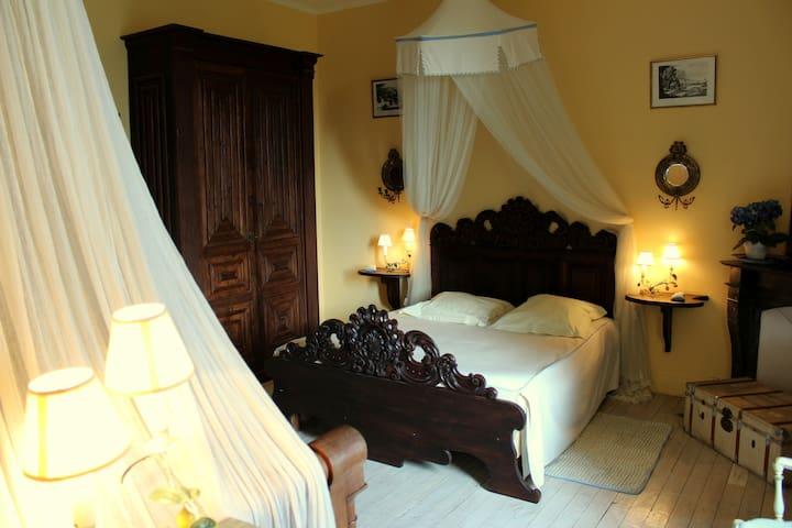 2 chambres au Château (Appartement) - Durtal - Appartement