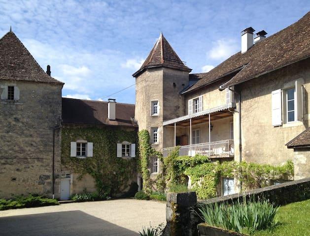 2BR in a Landmark House in the Alps - Virieu-le-Grand - Casa