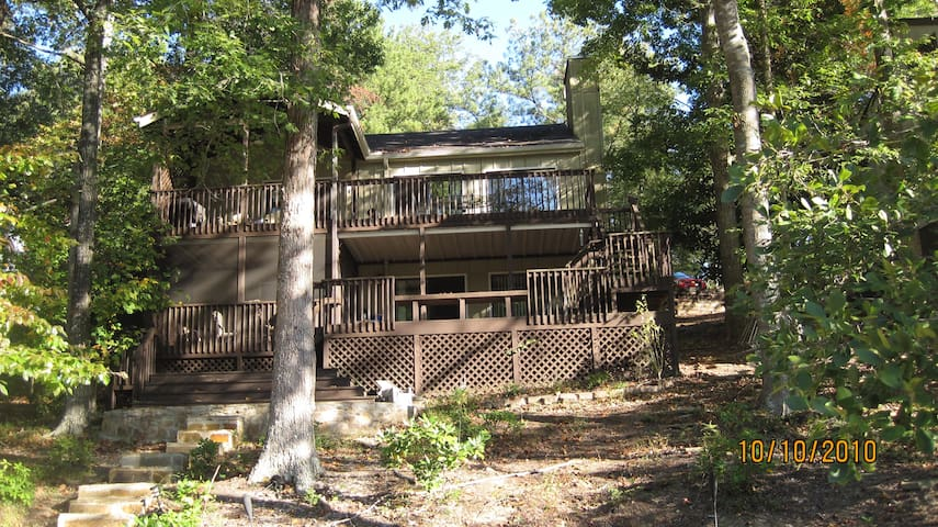 Lake Arrowhead GA Lake House - Waleska - Huis
