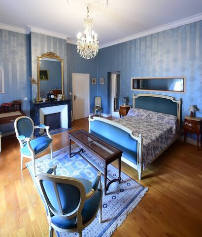 1 chambre style Louis XVI - Camblanes-et-Meynac - Bed & Breakfast