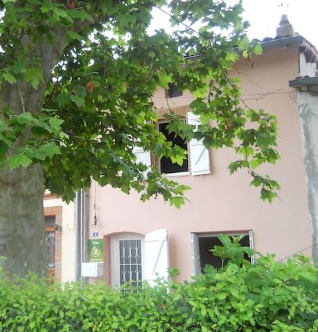 Maison de village au calme ,nature. - Aignes - Ev