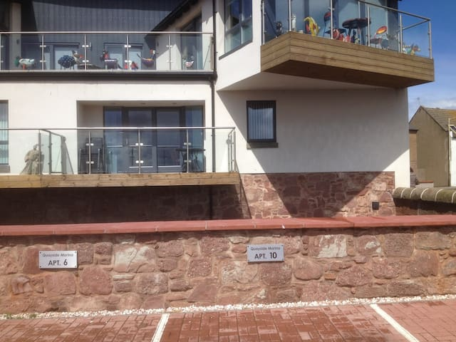 Arbroath luxury harbour apartment - Arbroath - Appartement