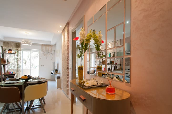 Calm Central & Cosy Aprt - Casablanca - Apartment