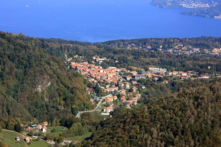 The Ideal Flat @Lake Maggiore - Gignese - Leilighet