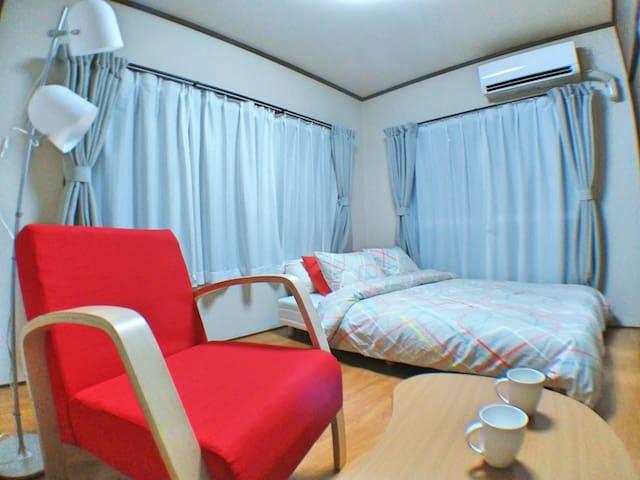 7min FUSSA Clean room +Mobile WiFi - Fussa-shi
