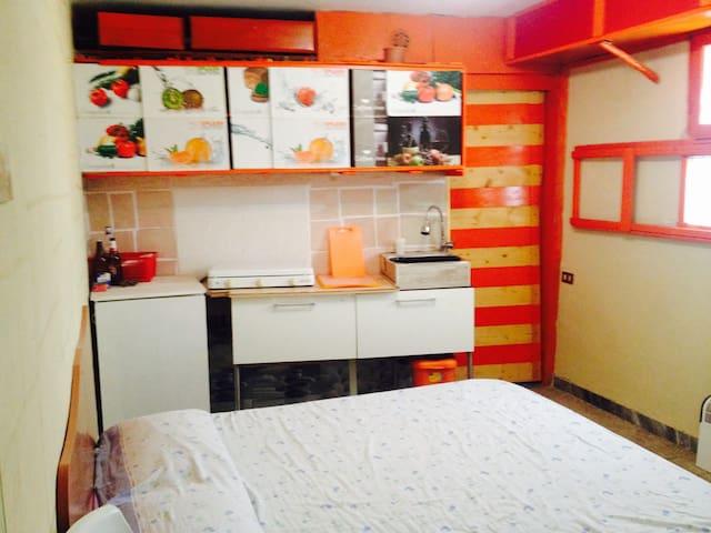 Cozy room flat in Cassino - Cassino - Loft