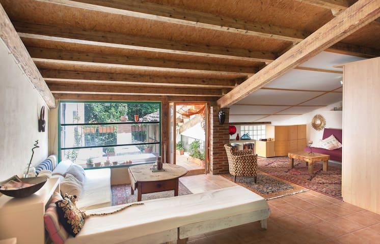 Cottage loft in Arbúcies Montseny - Arbúcies - Loft