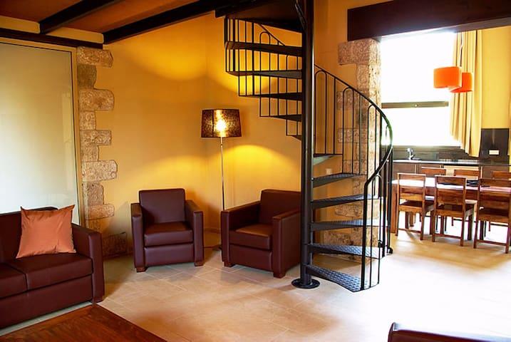 Apartamento 10-14pax L'ARCADA DE FARES - Sant Ferriol - Departamento