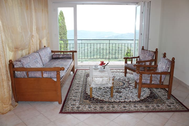 Apartment with a great view - Chlomos - 公寓