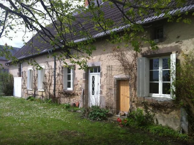 Beautiful cottage - Buxières-sous-Montaigut - Hytte