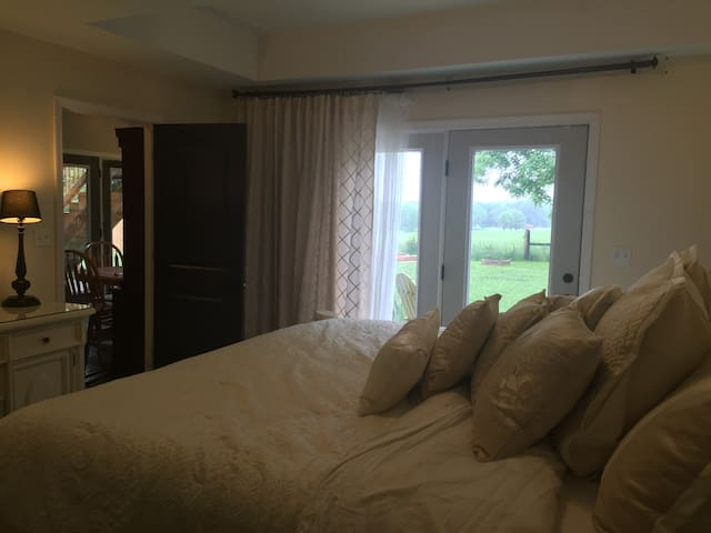 Private Lower Level King Bed/Patio - Simpsonville - Maison