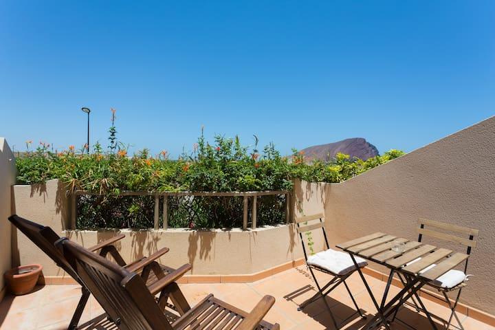 Apartament in front of th beach sea - Granadilla de Abona