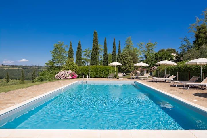 Charming farmhouse B&B rooms. - San Gimignano - Bed & Breakfast