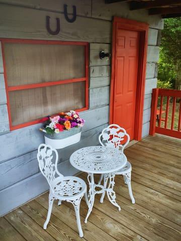 Lakeside Antique Log Tent Cabin #1 - Dandridge - Casa de campo