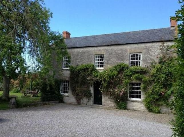The Croft @ Huxham Farmhouse - East Pennard - Apartamento