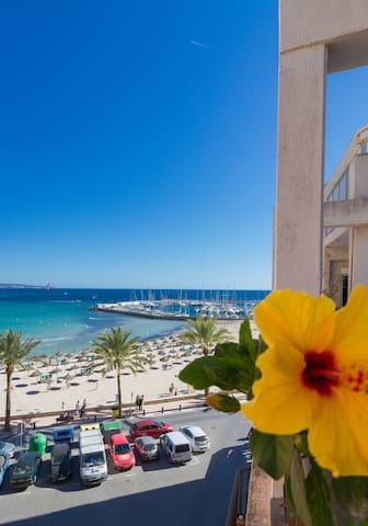 habitacion con vistas al mar - Can Pastilla