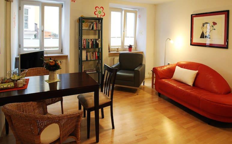 Hübsche Wohnung in der Innenstadt - Landshut - Квартира