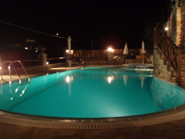 Relaxation House with Stunning View - Syros