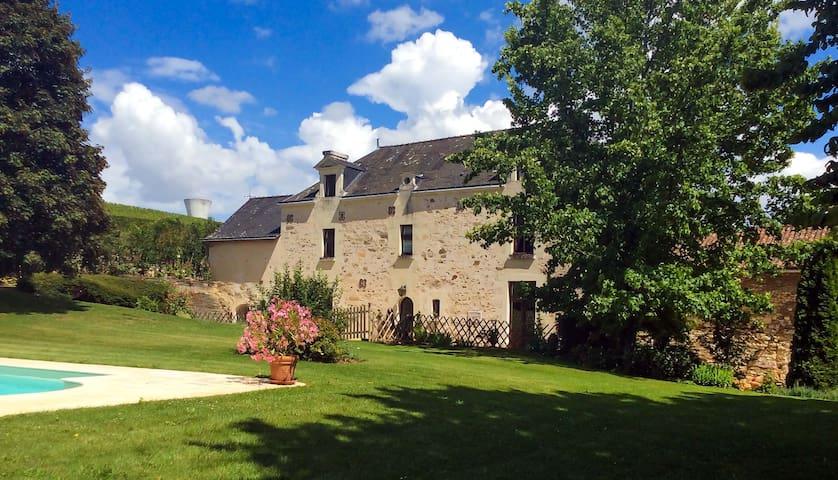 Allouette Gite @ Manoir Savonniere - Les Verchers-sur-Layon - 家庭式旅館