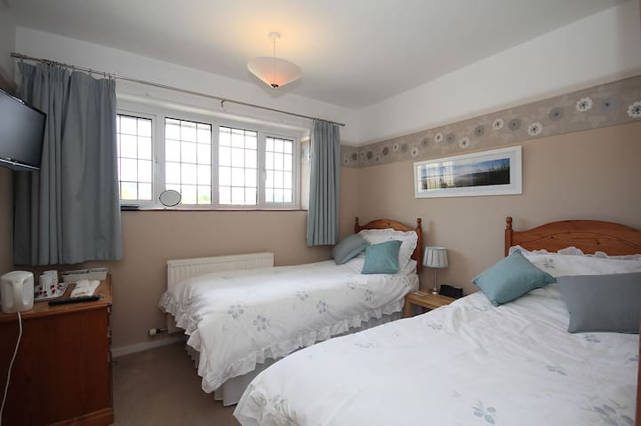 Lovely cosy twin room. - Taunton - Bed & Breakfast