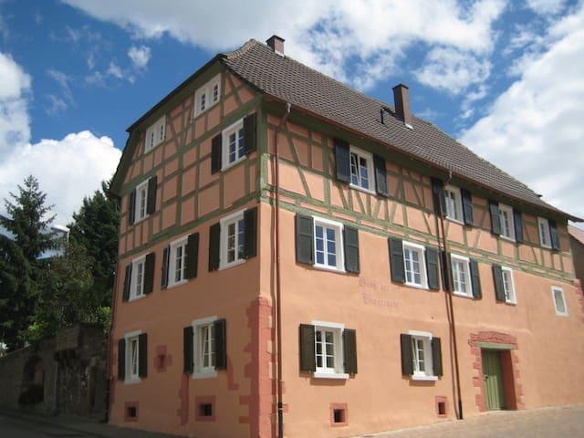 Historisches Haus der Bürgerwehr - Mahlberg - Leilighet