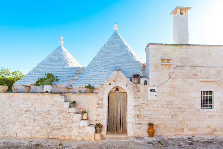 Charming Trullo in the beautiful Itria Valley - Cisternino - Rumah