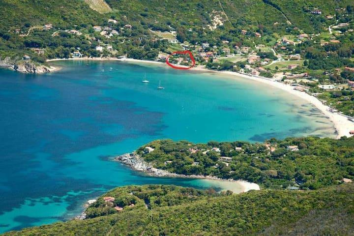 Isola d'ELBA a 5' dal mare a piedi - Procchio