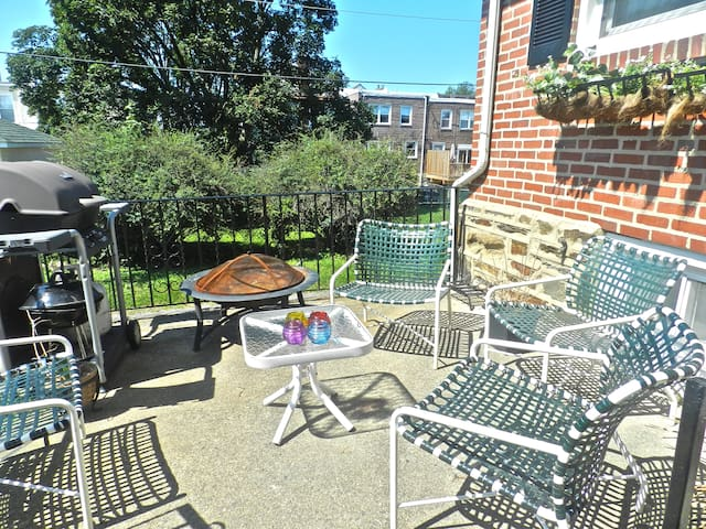 Row home 3bed 20' to Center Philly - Drexel Hill - Haus