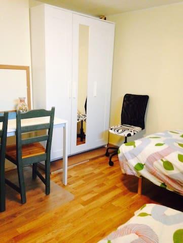 Nice room in Visby, room 2 - Visby - Ev